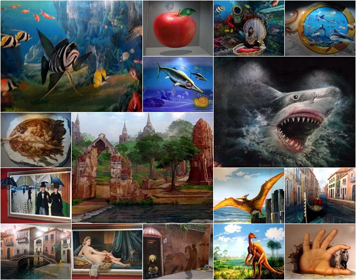 Art-in-Paradis Collage
