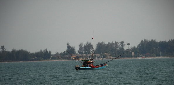 Chantaburi am Meer
